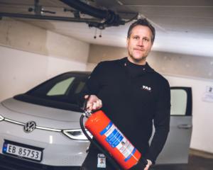 Rune Hatland, serviceingeniør hos Vekter og Alarmservice